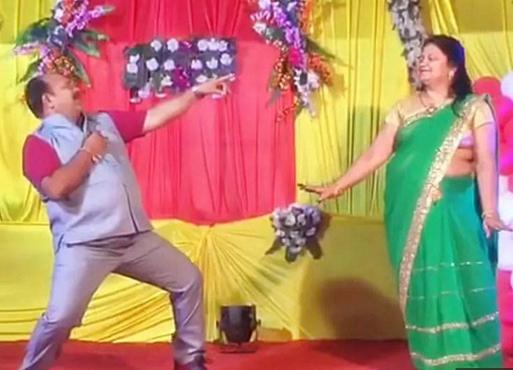 sanjeev srivastava with wife anjali