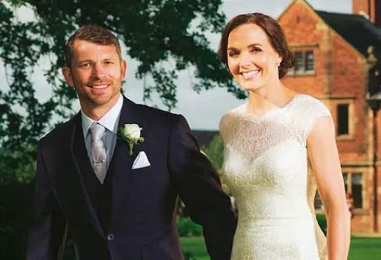 Scott Gardner and Victoria Pendleton