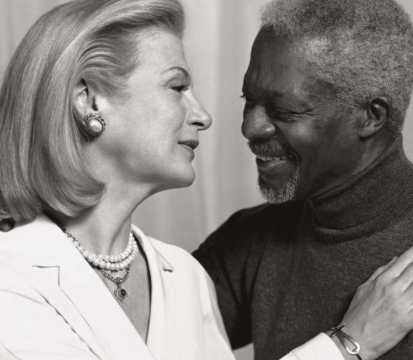 Nane Maria Annan, Kofi Annan's second Wife