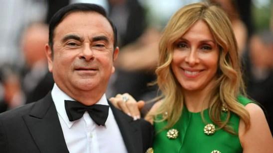 Carole Ghosn, Carlos Ghosn's Wife