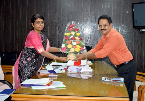 Dr Beela Rajesh IAS