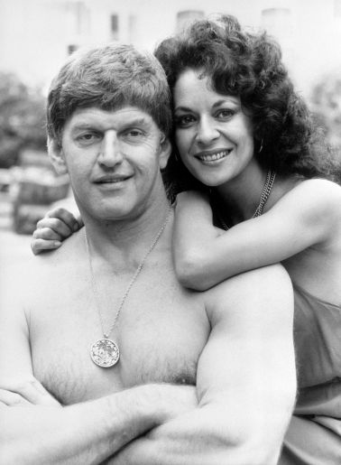 Norma Prowse with her husband