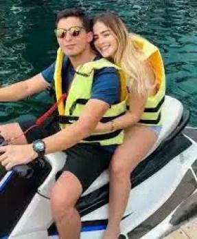 An Image of Nicolle Figueroa and Francisco Alaya