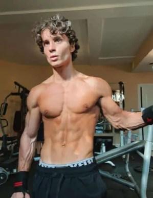 A photo of Peter Vigilante in a gym
