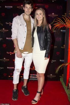 An Image of Ricki DeHaan and his Girlfriend