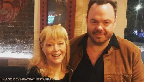 A photo of Ann Ratray and her husband