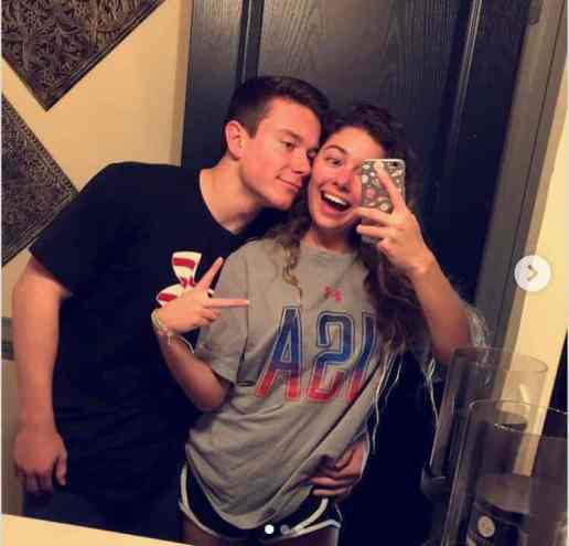 An Image of Brody Malone and his Girlfriend