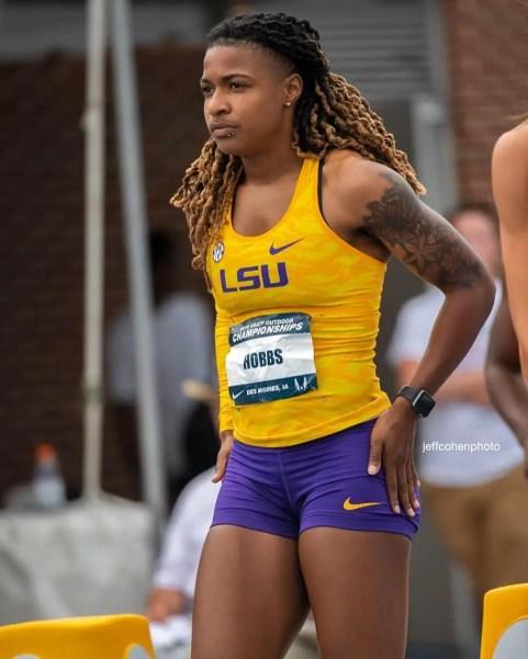 Athlete Aleia Hobbs