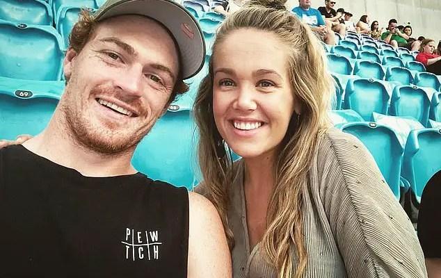 An Image of Madi Bennett and her Boyfriend