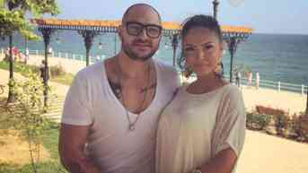 An Image of Cristian Mitrea and his ex gilrfriend