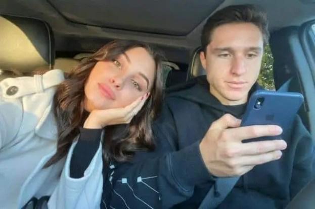 An Image of Benedetta Quagli and her boyfriend Federico