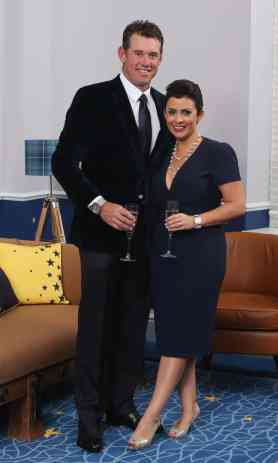 An Image of Laurae Coltart Westwood and her husband