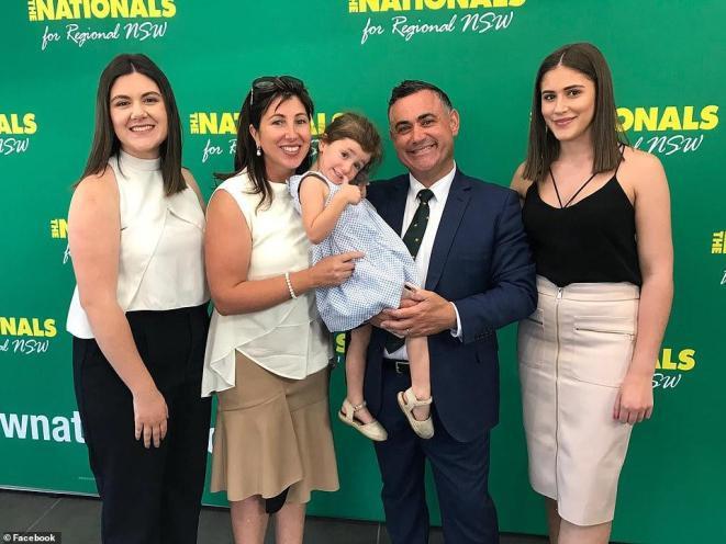 An Image of Domenica Barilaro and her family