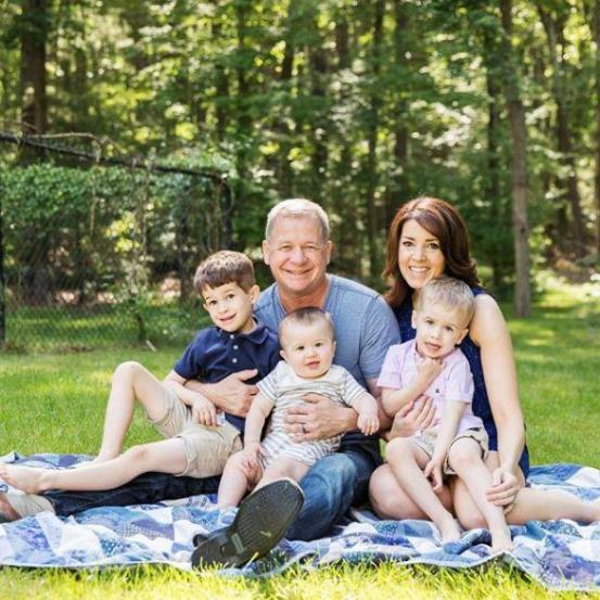 An Image of Emily Riemer and her family