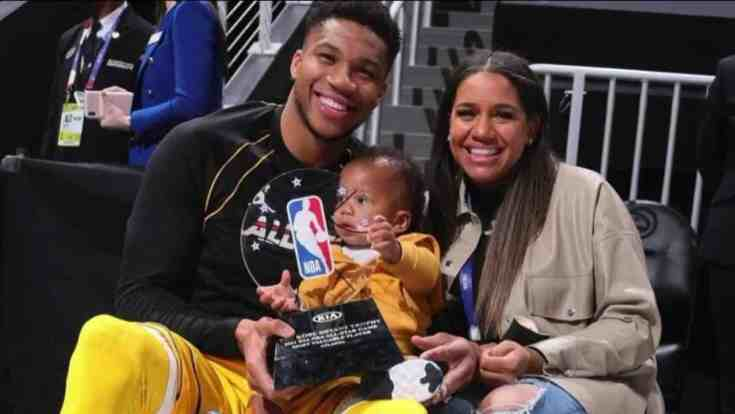AN Image of Mariah Riddlesprigger and Giannis Antetokounmpo
