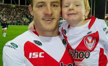 James Roby with Ollie