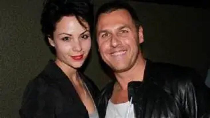 Antony Hampel with Phoebe