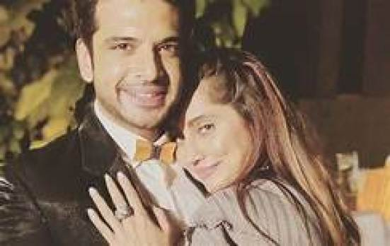 Karan Kundrra with his ex girlfriend