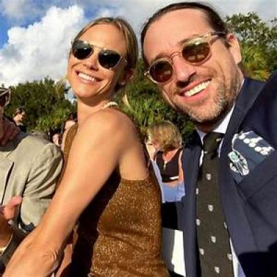 Cuffe Biden Owens with his wife