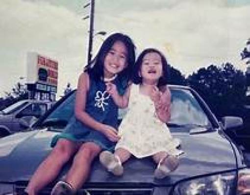 Stephanie Soo with her sister