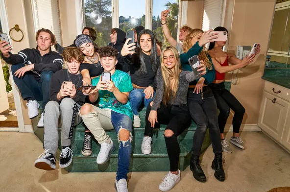 The Hype House TikTok, Ages, Members, Wiki
