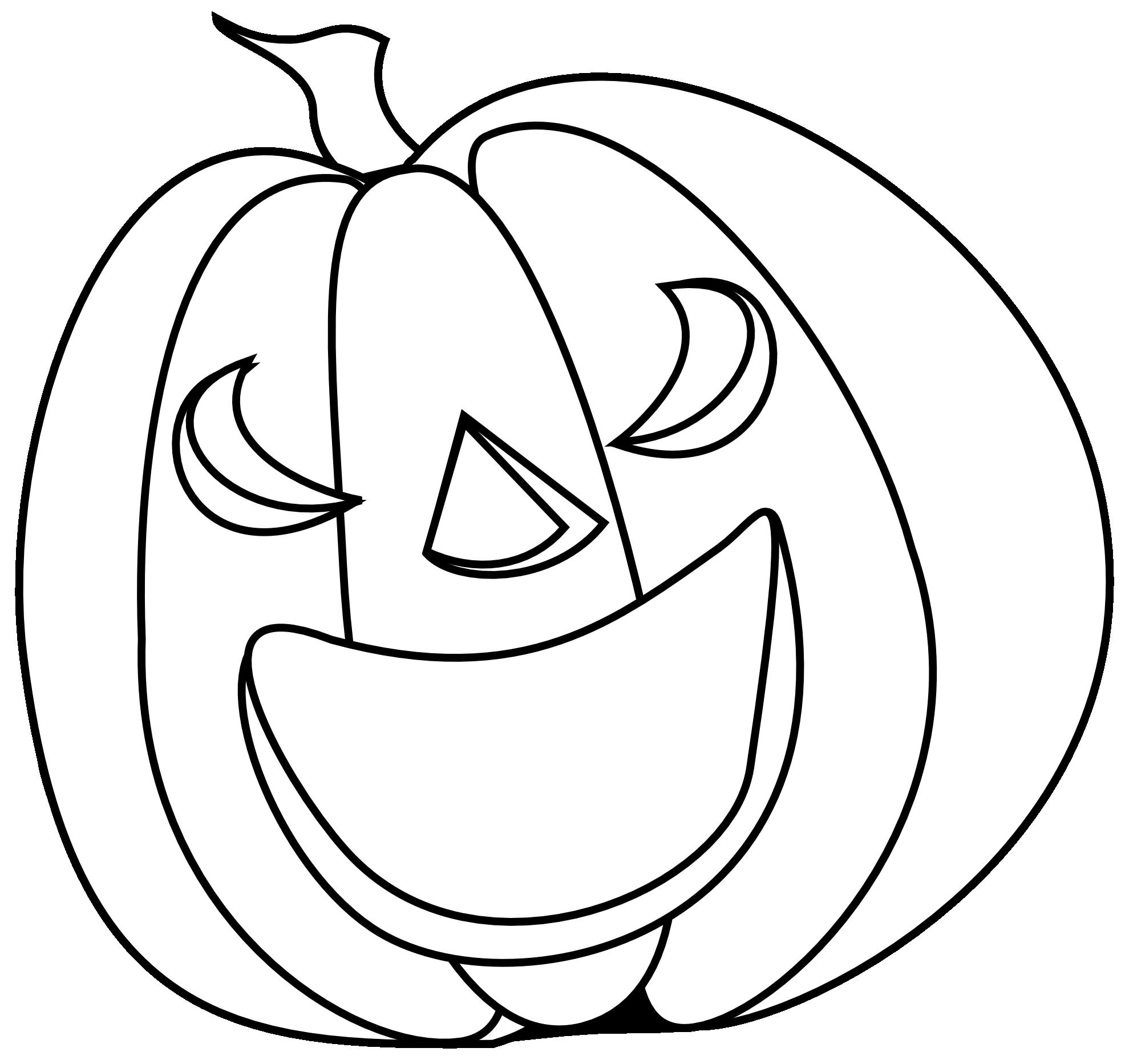 Halloween Black And White White Pumpkin Clipart