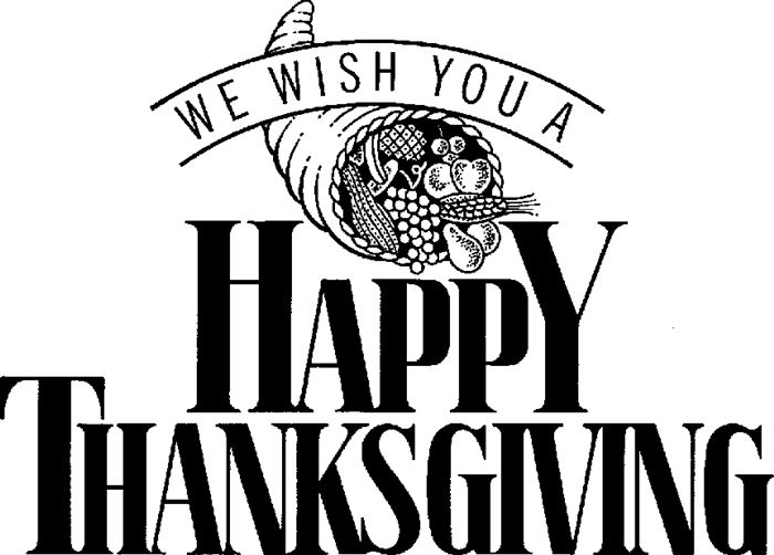And White Thanksgiving Black Background Religious