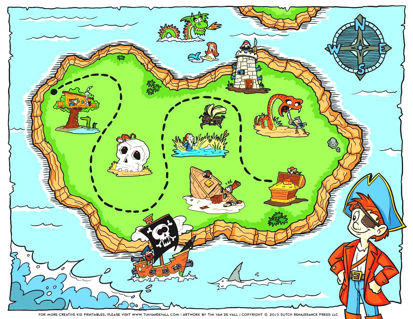 Blank Treasure Map Clip Art World With Latitude And