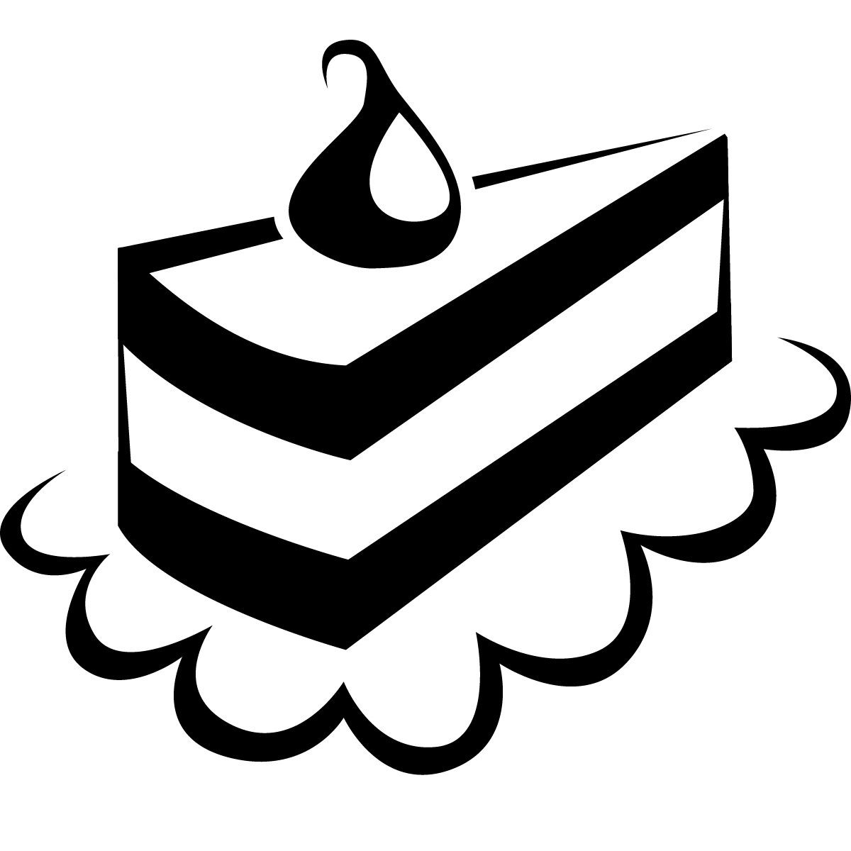 Cake Black And White Free To Use And Share Cake Clipart For Your Website Clipartdeck