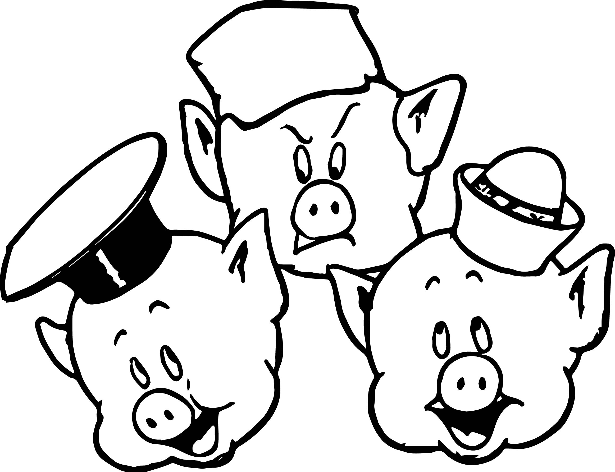 Pig Face Clipart
