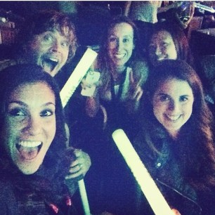 @ericcolsen: Such a great crew at the #wcs concert. Best team in Hollywood.