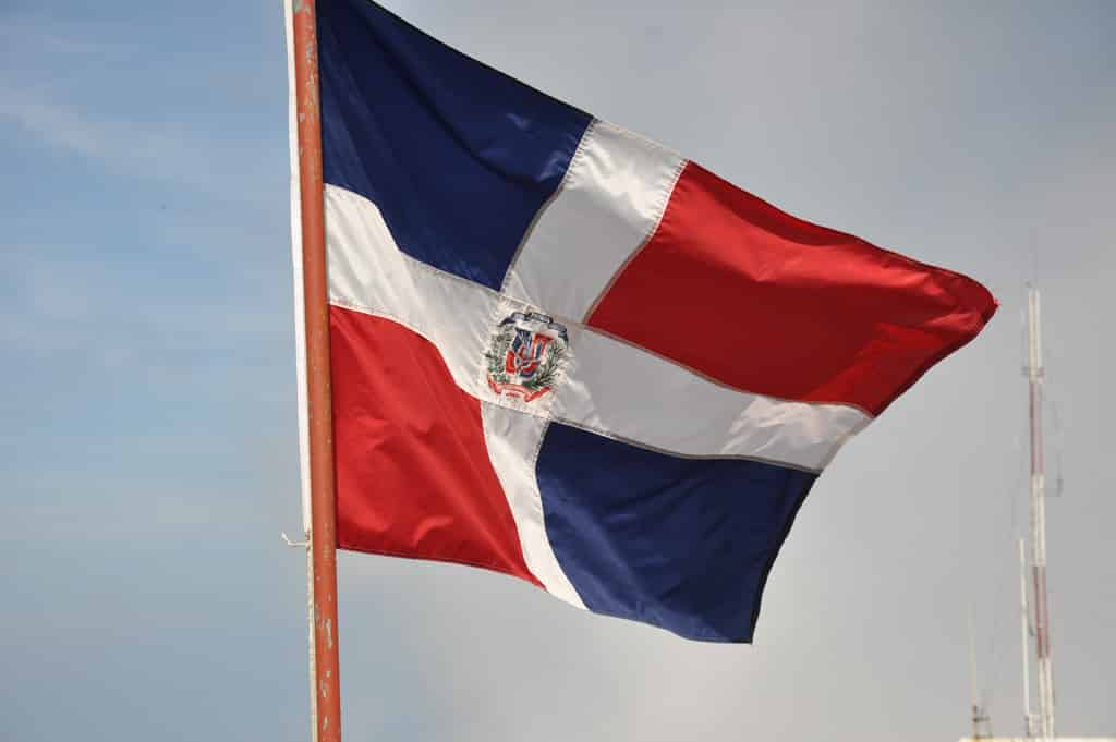 Bandera de la Republica Dominicana