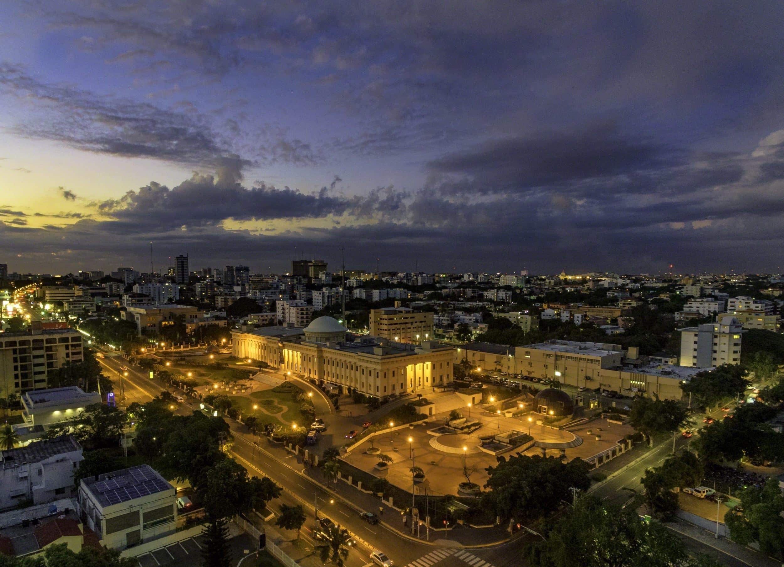 Palacio de Bellas Artes de noche