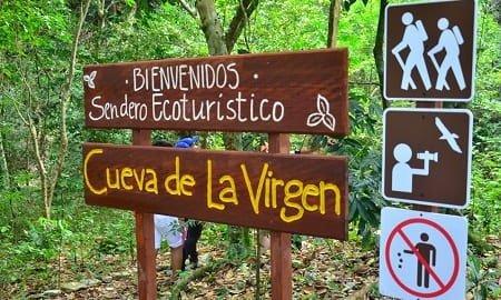 SENDERO DE LA VIRGEN, Cueva de la Virgen