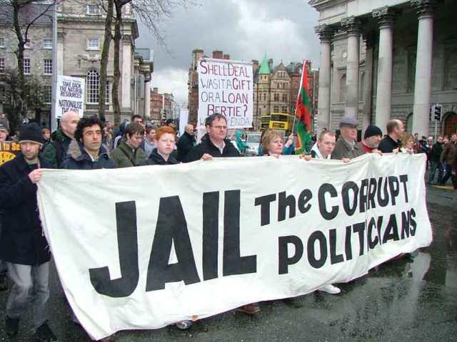 الفساد في إيرلندا-