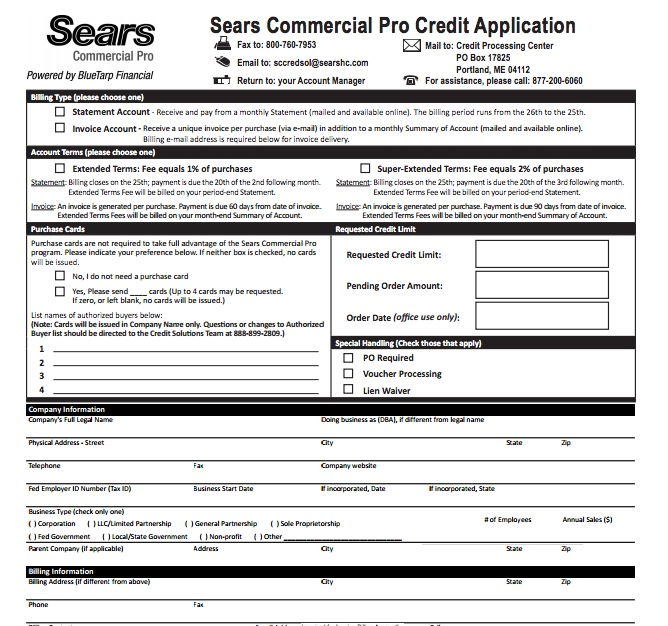 We gave both of these cards 3 out of 5 stars because they're not a bad option for big spenders at sears. sears-credit-card-application - wikiDownload wikiDownload