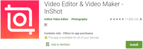 Inshot for PC without BlueStacks