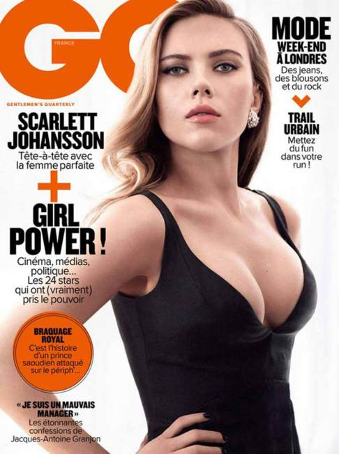 Scarlett Johansson GQ Cover