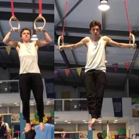 Practising Gymnastics