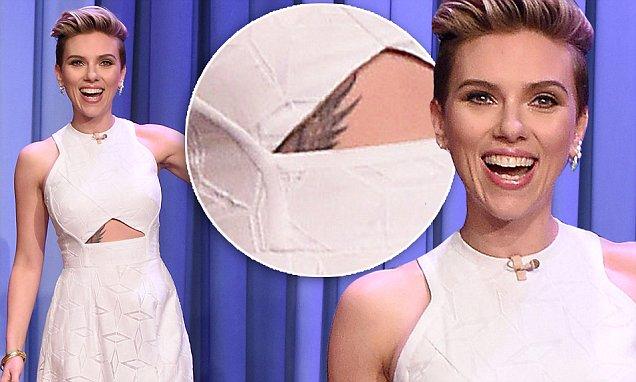 Scarlett Johansson tattoo-8