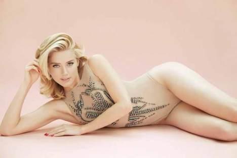 Amber Heard Sexy Posing