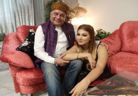 Jaleen with Anup Jalota