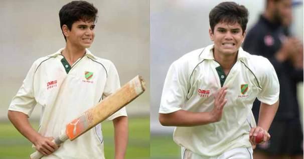 All Rounder Arjun Tendulkar