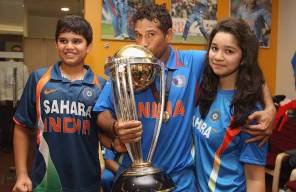 Tenduldar family family after wining world cup