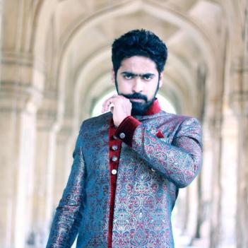 Ashish gandhi in beard