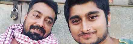 Deepak with Anurag Kashyap
