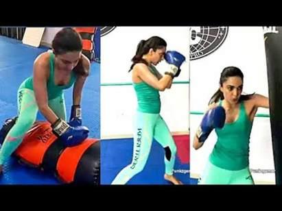 Kiara boxing