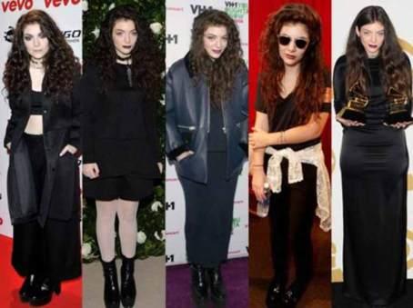 Lorde looks