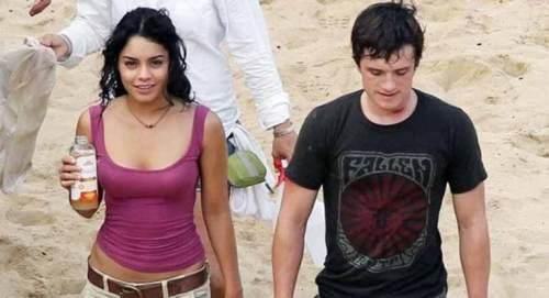 Vanessa with Josh Hutcherson
