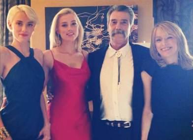 Amber Heard Family
